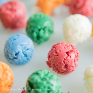Coloured Choco-Coco Balls