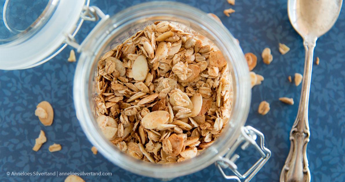 Almonds and Oats Fall Muesli
