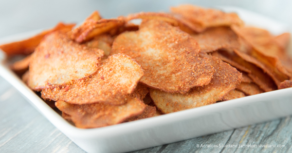 Baked Barbecue Potato Chips