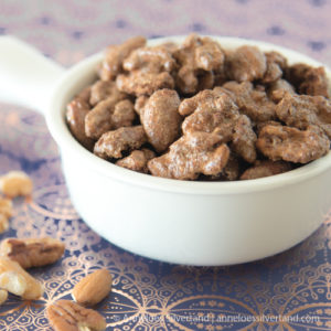 Sugar and Cinnamon Spiced Nuts