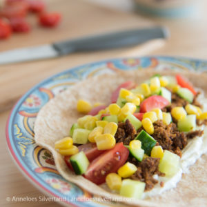Easy Meatless Dinner Wraps
